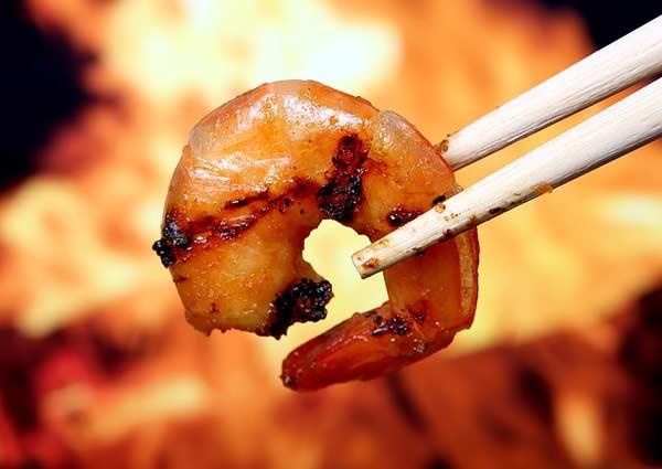 Asiatisches Barbecue